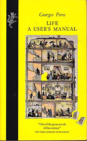 life a user s manual by georges perec first edition abebooks rh abebooks com life a user's manual georges perec quotes Georges Perec Cat