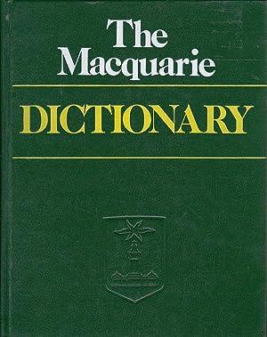 The Macquarie Dictionary: Delbridge, Arthur. Editor-in-Chief