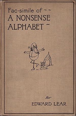Facsimile of a Nonsense Alphabet: Lear, Edward