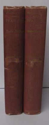 IVANHOE (2 Volumes Border Edition): Sir Walter Scott