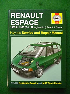 Renault Espace 1985 to 1996 (C to: John S. Mead
