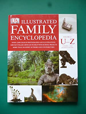DK Illustrated Family Encyclopedia Volume 15 U-Z ( Universe to Zoos Reference Section )