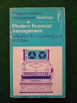 Modern Financial Management: B.V.Carsberg And H.C.Edey
