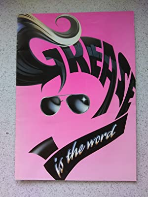 Grease Is The Word (Theatre Souvenir Programmes)
