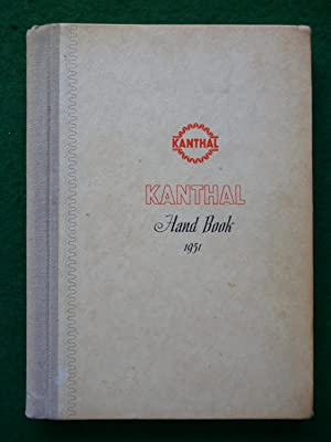 Kanthal Hand Book 1951 Kanthal Alloys For