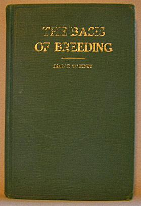 THE BASIS OF BREEDING