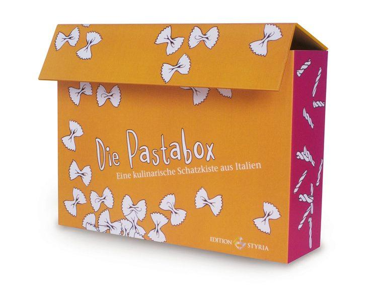 Die Pasta Box, Rezeptkarten - Lottermoser, Ria