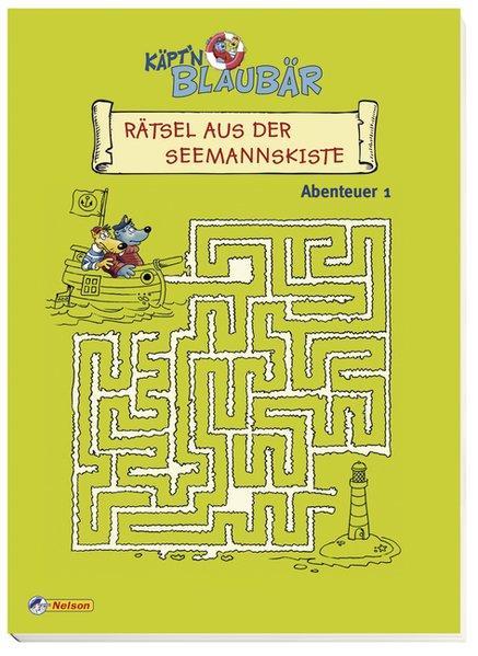 Käptn Blaubär, Rätsel aus der Seemannskiste: Abenteuer 1 - Schwarz, Astrid