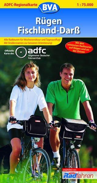 ADFC Regionalkarten, Rügen, Fischland, Darß (ADFC-Regionalkarte 1:75000)