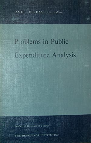 Problems in public expenditure analysis : papers presented at a conference of experts : Sept. 15-...