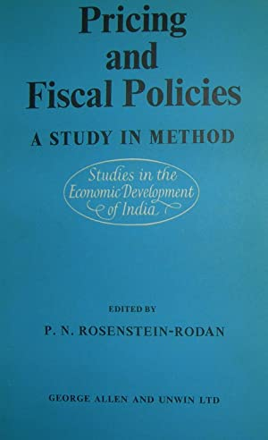 Pricing and fiscal policies. A study in method.