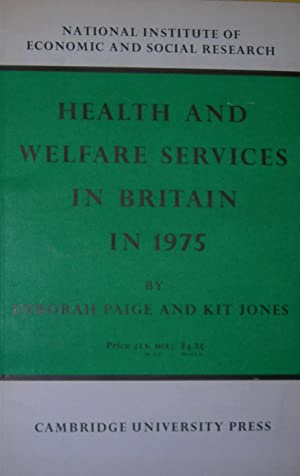 Health and Welfare Services in Britain in 1975.
