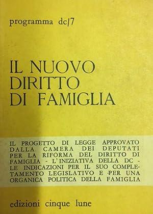 Il nuovo diritto di famiglia; il progetto: AA. VV.