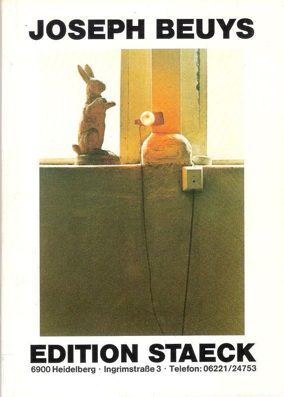 Joseph Beuys (. Katalog der in der: Beuys, Joseph: