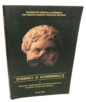 Materialy I Ogolnopolskiej Konferencji Naukowej Studentow Konserwacij: Korzeniowski, Tomasz (Korzeniowskiego,