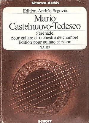 Serenade d minor. op. 118. Serenade pour: Castelnuovo-Tedesco, Mario (Komponist):