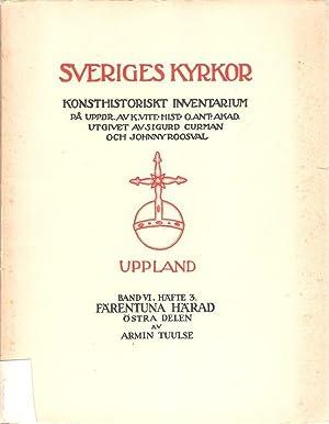Uppland. Band VI. Häfte 3. Kyrkor I: Tuulse, Armin: