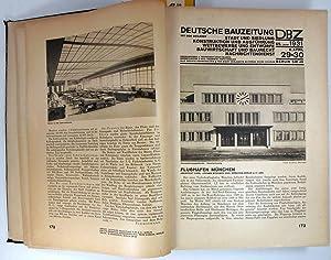 Deutsche Bauzeitung DBZ. Hefte 27/28 - 95/96: Blunck, Erich (Hg.):
