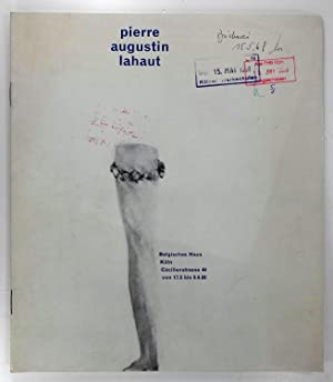 Pierre Augustin Lahaut. (Katalog zur Ausstellung) Belgisches: Dypréau, Jean: