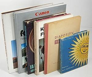 Konvolut Fotografieren - 6 Titel: Heinz Temmler: Temmler, Weizsäcker, Fischer,