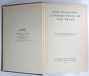 The Economic Consequences of the Peace.: Keynes, John Maynard: