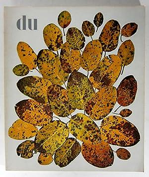 du. Kulturelle Monatsschrift. 27. Jahrgang. September 1967.: Gasser, Manuel (Red.):