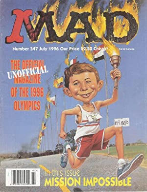 MAD. Number 347 July 1996. The unofficial Magazine of the 1996 Olympics.