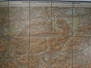Karte Oberammergau Garmisch Partenkirchen Zvab