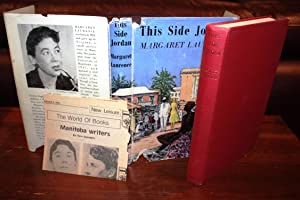 THIS SIDE JORDAN {Rare 1st Edition}: MARGARET LAURENCE