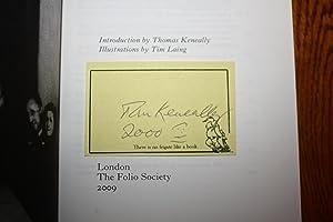 Schindler's Ark [SIGNED FOLIO EDITION]: Thomas Keneally
