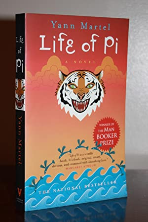 LIFE OF PI {signed/dated}: YANN MARTEL