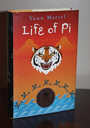 LIFE OF PI {Signed & Dated}: YANN MARTEL