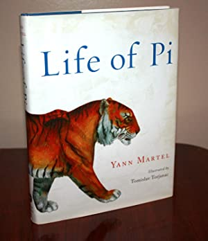 LIFE OF PI -- Illustrated Edition [SIGNED: YANN MARTEL
