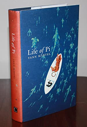 LIFE OF PI [SIGNED & DOODLED UK: YANN MARTEL