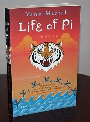 LIFE OF PI {SIGNED 1st Printing}: YANN MARTEL