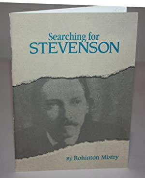 SEARCHING FOR STEVENSON {Signed 143 of 150}: ROHINTON MISTRY
