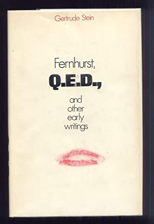 FERNHURST Q.E.D., and OTHER WRITINGS: Gertrude Stein