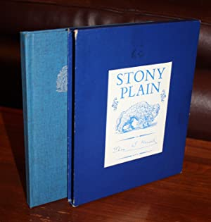 STONY PLAIN {SIGNED & DATED by the AUTHOR}: ELI MANDEL