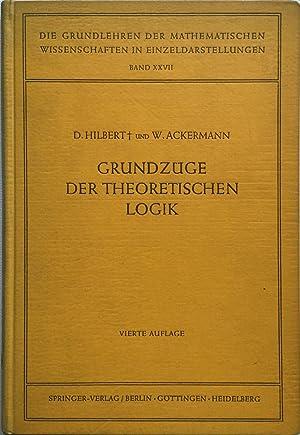 Grundzüge der theoretischen Logik: D. HIlbert, W. Ackermann