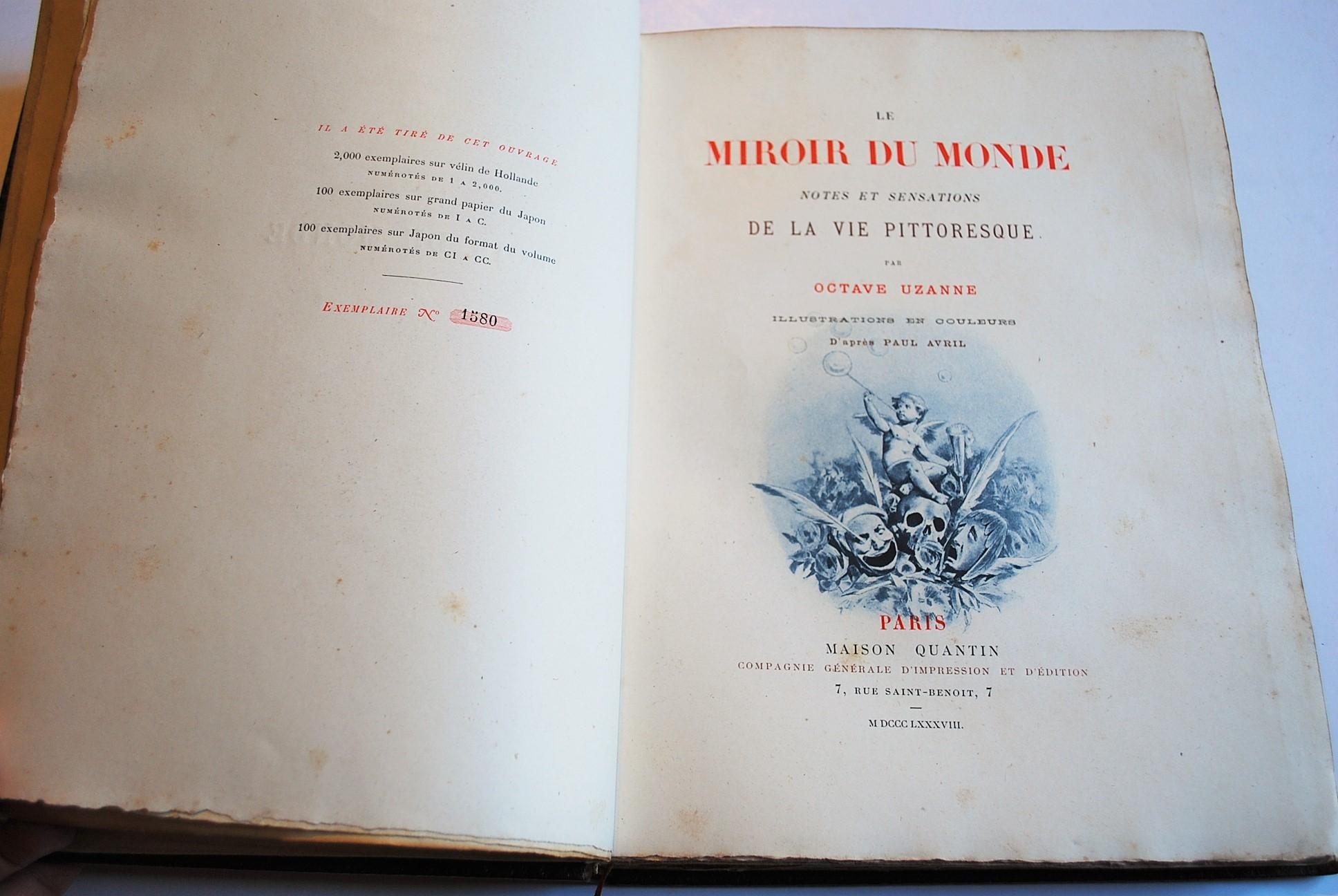 Le miroir du monde notes et sensations de la vie for Le miroir de la vie