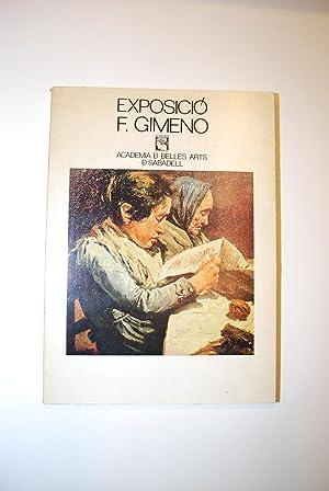 Exposició Francesc Gimeno. 1858 - 1927.