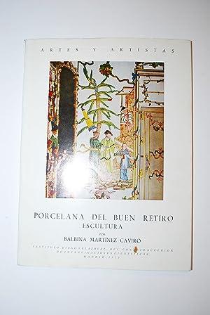 Porcelana Del Buen Retiro. Escultura.: Martínez Caviró, Balbina