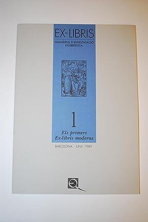 Ex-Libris. Quaderns d'Investigació Exlibrística. nº1: Els Primers