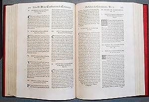 Constitutions y Altres Drets De Cathalunya, Compilats En Virtut Del Capitol De Cort LXXXII De Las ...