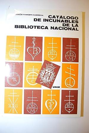Catálogo De La Biblioteca Nacional De México.: Yhmoff Cabrera, Jesús