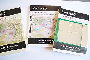 Joan Miró Carnets Catalans. Dessins et Textes Inédits.: Picon, Gaëtan