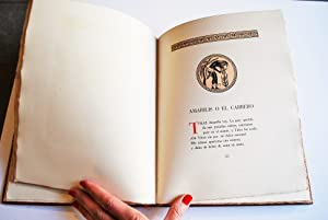 Idilios y Epigramas. Traducidos al Castellano Por Ignacio Montes De Oca y Obregón. Ilustrado...