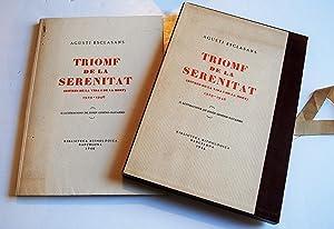 Triomf De La Serenitat. Ritmes De La: Esclasans, agustí