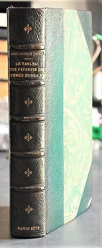 Le Tableau Des Piperies Des Femmes Mondaines.: Jacob, Le Bibliophile