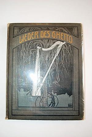 Lieder Des Ghetto.: Rosenfeld, Morris